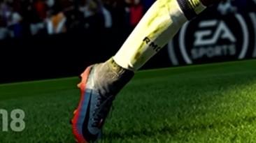 Почему это есть в PES 2018, но нет в FIFA 18 !?