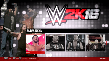"WWE 2K16 ""The Wyatt Family (Menu) MOD"""