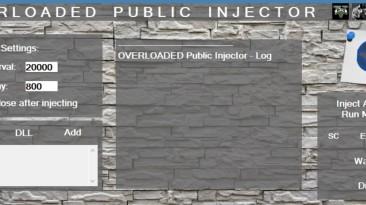 Grand Theft Auto 5 (GTA V): Overloaded Public Injector (v1.8)