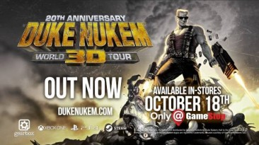 Состоялся релиз Duke Nukem 3D: 20th Anniversary World Tour
