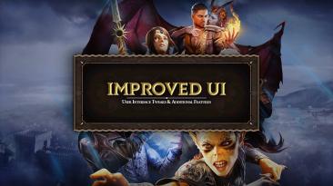 "Baldur's Gate 3 ""Improved UI"""