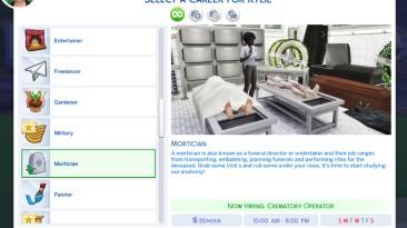 "The Sims 4 ""Набор карьер для симов"""