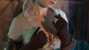 """Княжна Цири в батистовом нижнем белье - косплей на персонажа из """"Ведьмака"""""""