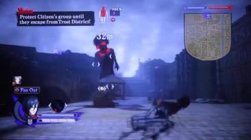 "Attack On Titan ""Геймплей (E3 2016)"""