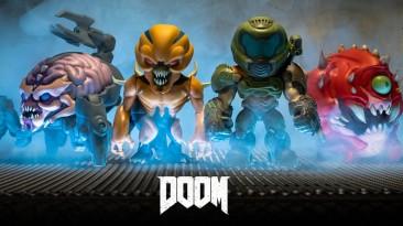 Представлена коллекция фигурок в стиле чиби по мотивам игры Doom Eternal
