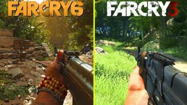 Видео сравнение графики Far Cry 3 и Far Cry 6