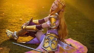 Принцесса с мечом - косплей на The Legend of Zelda