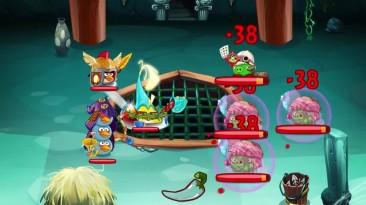 В геймплейном трейлере Angry Birds Epic показаны пошаговые бои
