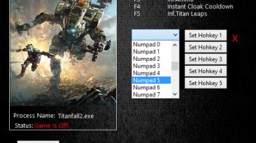 Titanfall 2: Трейнер/Trainer (+6) [2.0.11] {MrAntiFun}
