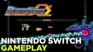 16 минут игрового процесса Blaster Master Zero, игра выйдет на 3DS и Switch 9 марта