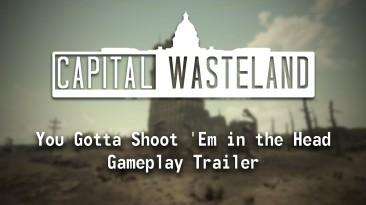 """12 минут геймплея Fallout 4: Capital Wasteland """"ремейка"""" Fallout 3 на движке Fallout 4"""