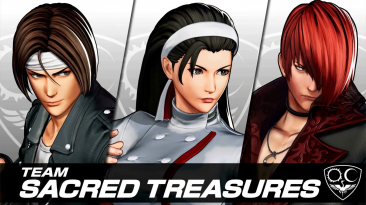 Подробности команды Sacred Treasures в The King of Fighters XV
