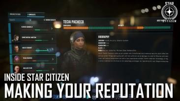 Новое видео Star Citizen показывающее систему репутации и контент альфы 3.13; Краудфандинг достиг 352 млн. долларов
