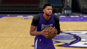 """NBA 2K16 """"Rudy Gay new face and hair"""""""