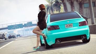 """Grand Theft Auto 5 """"Мод на четкую графику v1.52"""""""