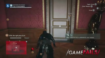 "Assassin's Creed Unity - ""Баг #1"""