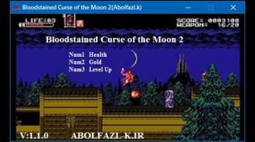 Bloodstained Curse of the Moon 2: Трейнер/Trainer (+3) [1.0] {Abolfazl.k}