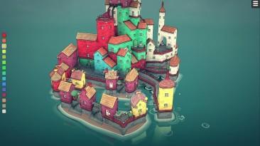 Выход полной версии Townscaper состоится в августе