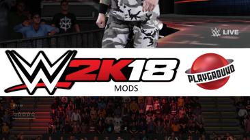 "WWE 2K18 ""Bubba Ray Dudley MOD"""