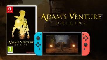 Физическая версия Adam's Venture: Origins теперь доступна для Nintendo Switch