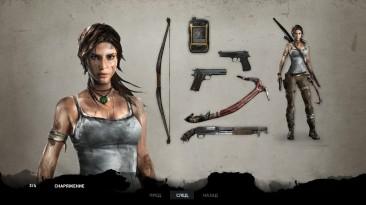 "Tomb Raider (2013) ""Все эскизы из игры (1920x1080)"""