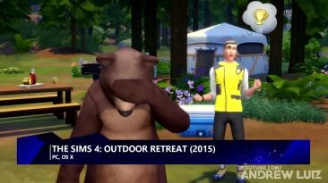 THE SIMS 4 - Эволюция всех обновлений для игры (Andrew Luiz)