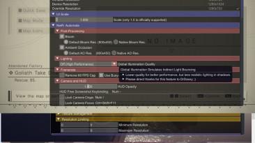 """NieR: Automata """"FAR (мод) v0.5.7.4 для получения играбельного FPS на слабых видеокартах уровня GTX460\GTX650 и выше"""""""