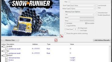 SnowRunner: Таблица для Cheat Engine [UPD: 19.05.2021/v.13.1] {T-Red}