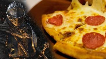 """""""Его можно даже есть"""" - Энтузиаст сделал полностью функциональный контролер из пиццы для прохождения Dark Souls"""