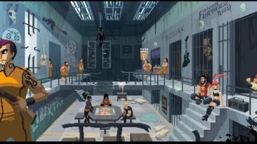 Релизный трейлер шутера с элементами ритм-игры Double Kick Heroes
