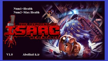 The Binding of Isaac: Rebirth Repentance: Трейнер/Trainer (+2) [1.0] {Abolfazl.k}