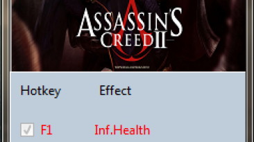 Assassin's Creed 2: Трейнер/Trainer (+3) [1.0] {MrAntiFun}