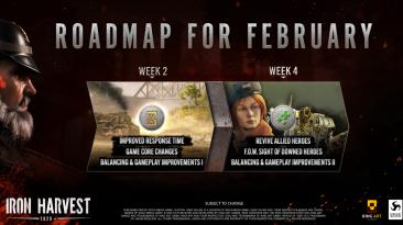 Iron Harvest: планы разработчиков на февраль