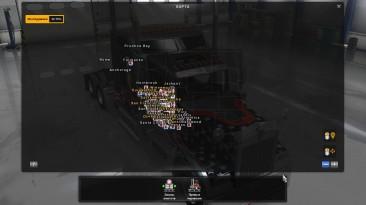 "American Truck Simulator ""USA Offroad Map and Alaska Обновление"""