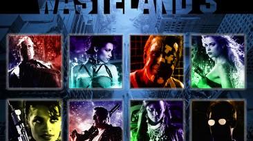 "Wasteland 3 ""Портреты персонажей х/ф Sin City"""