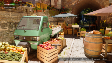 Впечатляющая бесплатная технодемка The Market of Light на Unreal Engine 5 доступна бесплатно в Steam
