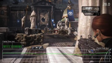 Xbox One Gears of War 1/2/3/Judgement Тест обратной совместимости - Frame-Rate Test (DigitalFoundry)