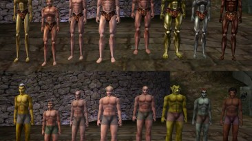 "Morrowind ""Улучшенные тела (Better Bodies 2.2)"""