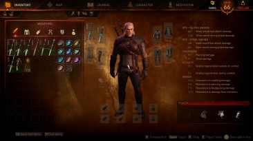 """Witcher 3: Wild Hunt """"E3 2014 UI and HUD"""""""