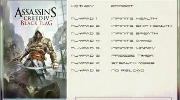 Assassin's Creed 4 ~ Black Flag: Трейнер/Trainer (+8) [1.01 + DLC] {GRIZZLY / PlayGround.ru}