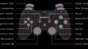 """Grand Theft Auto: San Andreas """"Управление на геймпаде как в Playstation 2, с помощью программы"""""""
