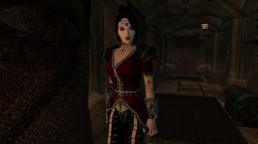 "Morrowind ""Женский костюм Вампира"""