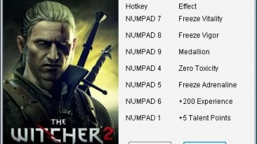 The Witcher 2 - Assassins of Kings: Трейнер/Trainer (+7) [2.10] {mgr.inz.Player}