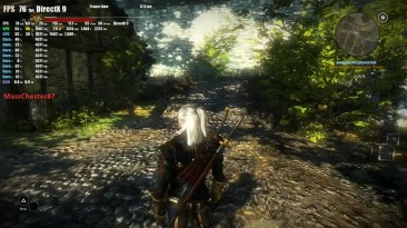 FX 8300 OC and GTX 1060 OC 6gb vs The Witcher 2 Assassins of Kings 1080p