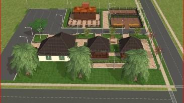 Чиновники одобрили дизайн-проект по благоустройству, созданный в The Sims 2