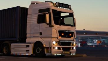 "Euro Truck Simulator 2 ""Man Tgx Тюнинг Мод v1.1 (1.41.x)"""