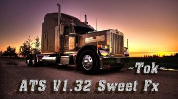 "American Truck Simulator ""[ATS v1.32] SweetFX+Reshad [только для win_x64]"""