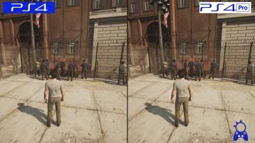 A Way Out | PS4 vs PS4 Pro | Сравнение графики