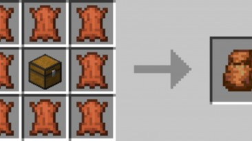 "Minecraft ""Мод на рюкзак"""