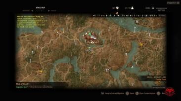 The Witcher 3: Wild Hunt / Ведьмак 3: Дикая Охота: Чит-Мод/Cheat-Mode (Все Метки Квестов на Карте / All Quest Objectives On Map) [1.30-1.31 v10a]